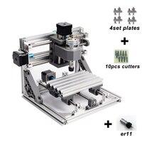 CNC 1610 met ER11, diy cnc graveermachine, mini Pcb Freesmachine, Houtsnijwerk machine, cnc router, cnc1610, beste speelgoed geschenken
