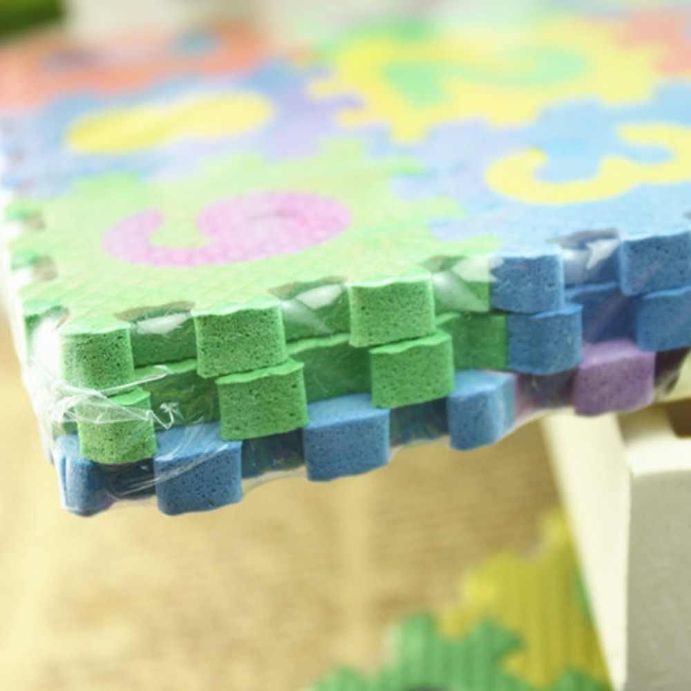Gioco del bambino Zerbino s Alfabeto Numeri Per Bambini Kids Play Zerbino Zerbino h Educativi Puzzle Giocattolo Bambino Morbida Schiuma Mini Gaming zerbino s Regalo 36 pz/set
