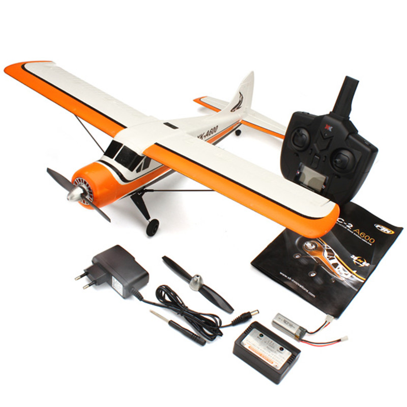 New XK A600 5CH 3D6G System Brushless RC Airplane Plane model 2 RTF Model 2 original xk dhc 2 a600 2 4ghz 6ch transmitter for xk a600 a700 a430 rc airplane drone