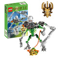 Súper carga de cráneo slicer bionicle heroes star wars figuras building blocks enlighten bricks figura de acción juguetes xzs 710-2