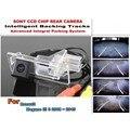 Умные Треков Чип Камеры/Для Renault Megane 3 III 2008 ~ 2015 HD CCD Интеллектуальный Динамический Парковка Автомобильная Камера Заднего вида