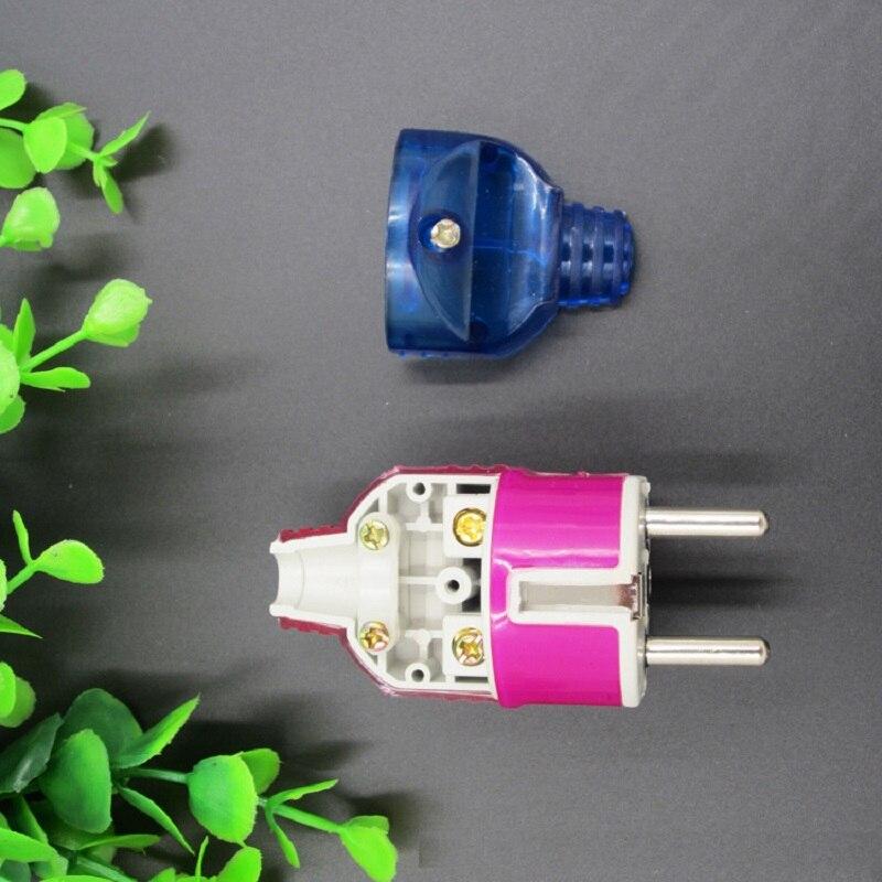 4.8mm prise de courant EU prise standard européenne type de connexion 250 V 16A haute température et autres avantages prise
