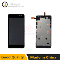 For Microsoft Lumia 535 Display Touch Screen Panel Assembly With Frame Parts Lumia 535 2c1607 2s1973