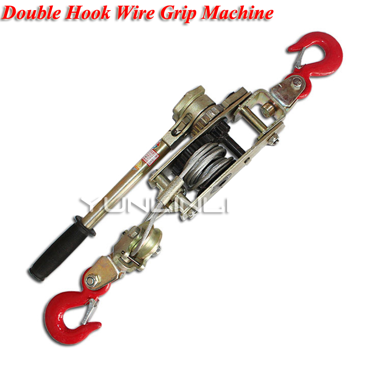 Mlutifunction Double Hook Wire Grip Device 4T Safe Load Universal Cable Tensioner Double Hook Wire Rope Tightener SWT102 50pcs lot 10cm u shaped slatwall double wire display hook slot board loop shaped double lines hanging hook free dhl