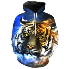 f978bbec24fd Cloudstyle 3D Hoodies Männer Stern Tiger 3D Animal Print Pullover  Streetwear Sweatshirts Fashion Tops Frühling Autume Trainingsa.
