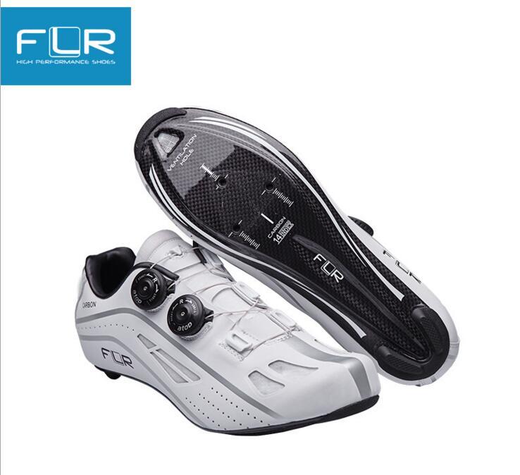 FLR FK-FXXII road bike lock shoes new bike shoes male road bike mountain bike riding shoes breathable anti - skid lock shoes bike