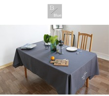 FUYA High-grade European Western-style Food Cafe Table Cloth Nappe Table Cover Overlay Party Table Mats Pads