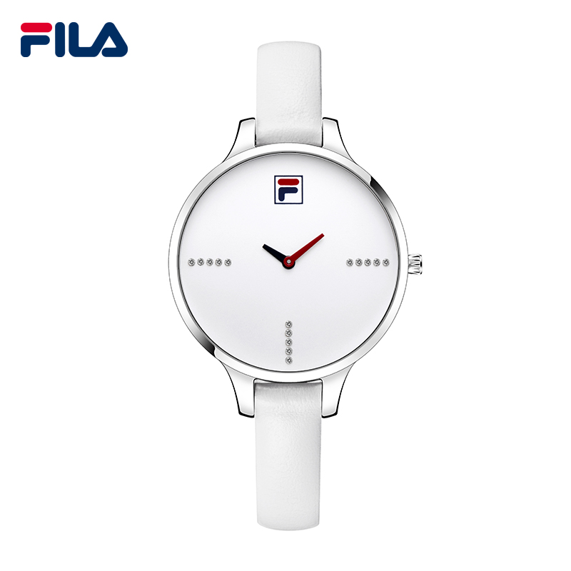 Fila 2017 Top Luxury Brand Fashion Casual Leather Strap Quartz Women Watches Waterproof High-quality Wristwatch Clock 38-780 tada brand luxury high quality 3atm waterproof japan quartz movement watches relojs lady fashion genuine leather watches