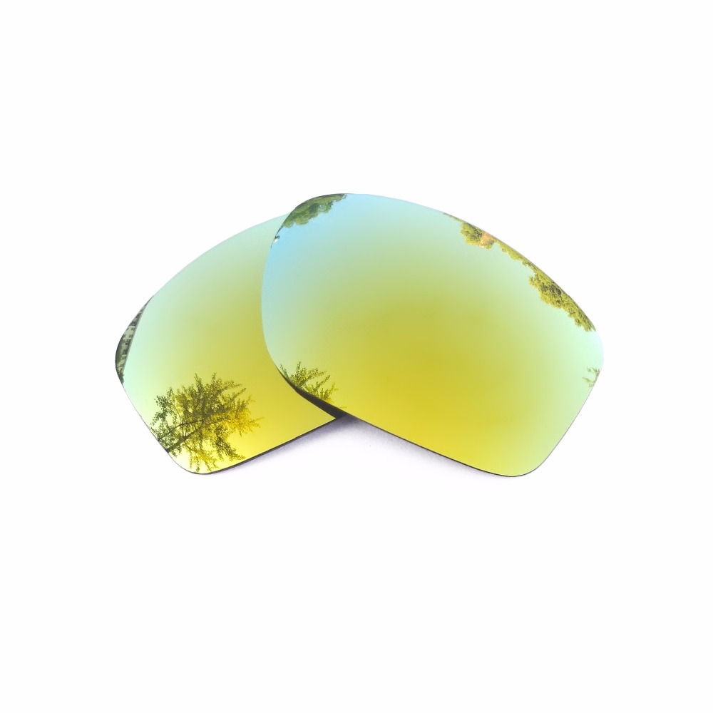24 К Золотые Зеркальные Поляризованные замены линзы для питбуль солнцезащитные очки кадр ...