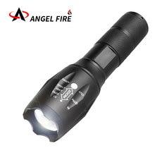 Светодиодный фонарик T6/L2 супер яркий фонарик Кемпинг лампы 5 Переключатель режима 10000 LM Увеличить велосипедов лампа с помощью 18650 батареи AAA +