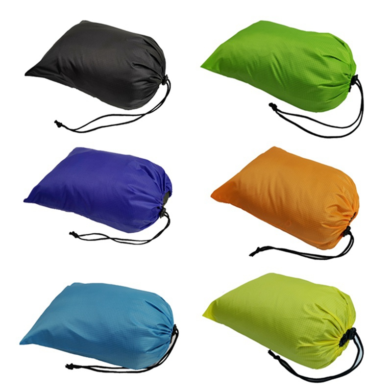 Outdoor Camping Hiking Travel Storage Bags Ultralight Waterproof Swimming Bag Drawstring  Pouch Travel Kits