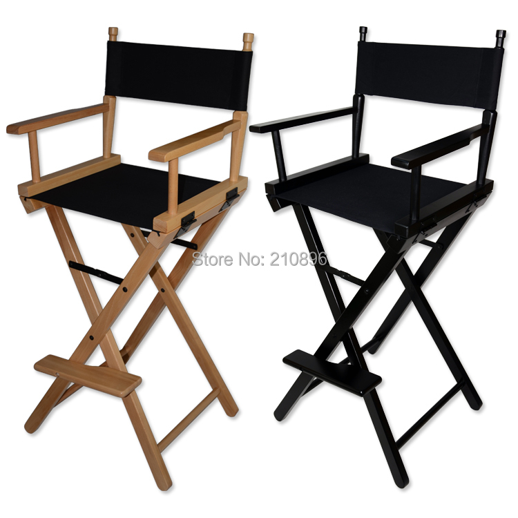 folding aluminum director chair portable makeup chair wood chair black and wood colorschina