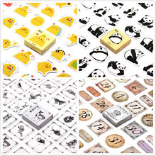 40Pcs Digital Markup Stickers for Laptop Car Styling Phone Luggage Bike Motorcycle Mixed Cartoon Pvc Waterproof Sticker(China)