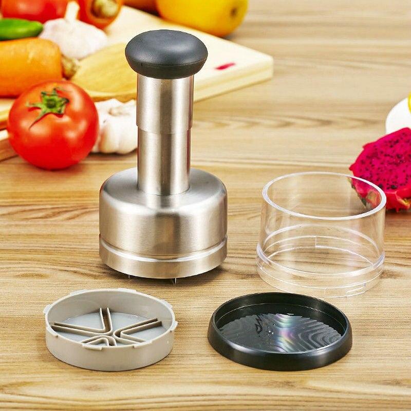 Kitchen accessories stainless steel onion multi function chopping utensils creative kitchen tools garlic press kitchen gadgets