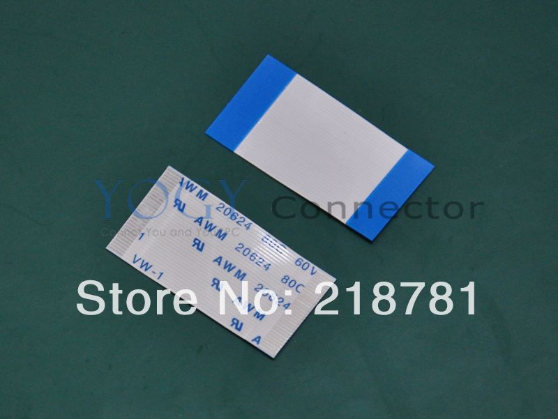 100x New AWM 20624 80C 60V VW-1 FFC Ribbon Cable, L= 30mm (3cm), W=15.5mm, 0.5mm Pitch, 30pin, Positive *Accept Customize FFC*