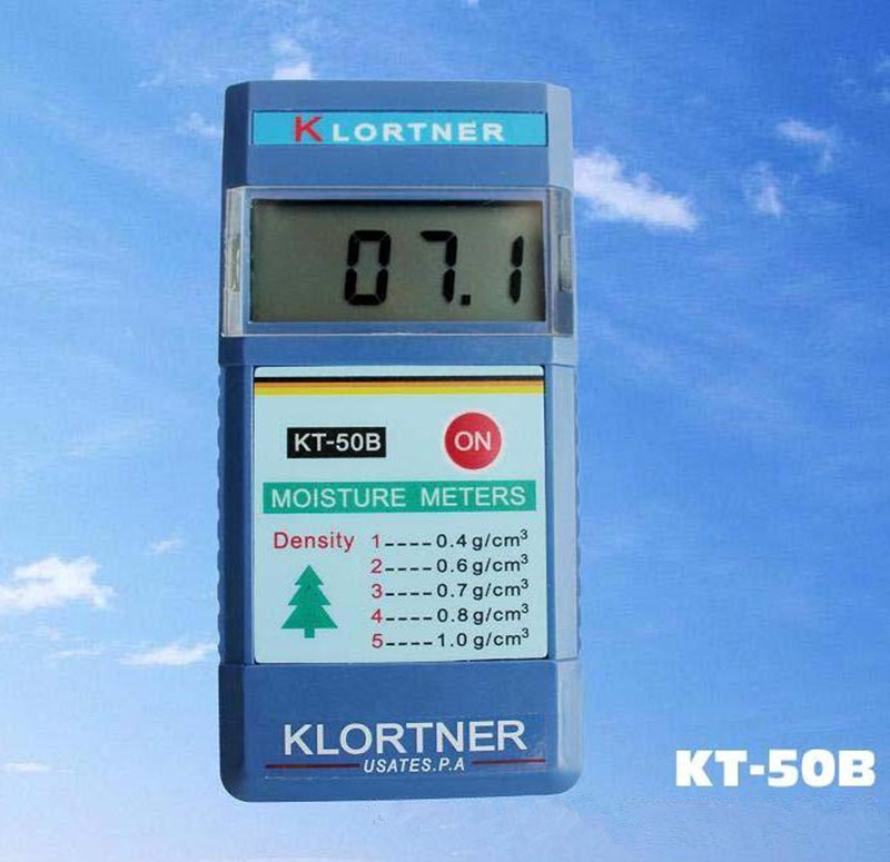KT50B induction type wood moisture Meter wood moisture testers timber humity meter range2~90% Accuracy 0.1% цена