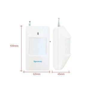 Image 4 - Sgooway sensor PIR inalámbrico para alarma, 20 unidades, 433MHZ, móvil sin cables, detector de sensor para alarma, 2 años de garantía