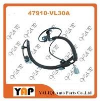 4WD ABS SENSOR ASSY ANTISKID FRONT Right FOR FITNISSAN TRUCK PICKUP NP300 D22 D23 KA24DE QD32 ZD30 YD22 YD25 TD25 TD27 VG33E