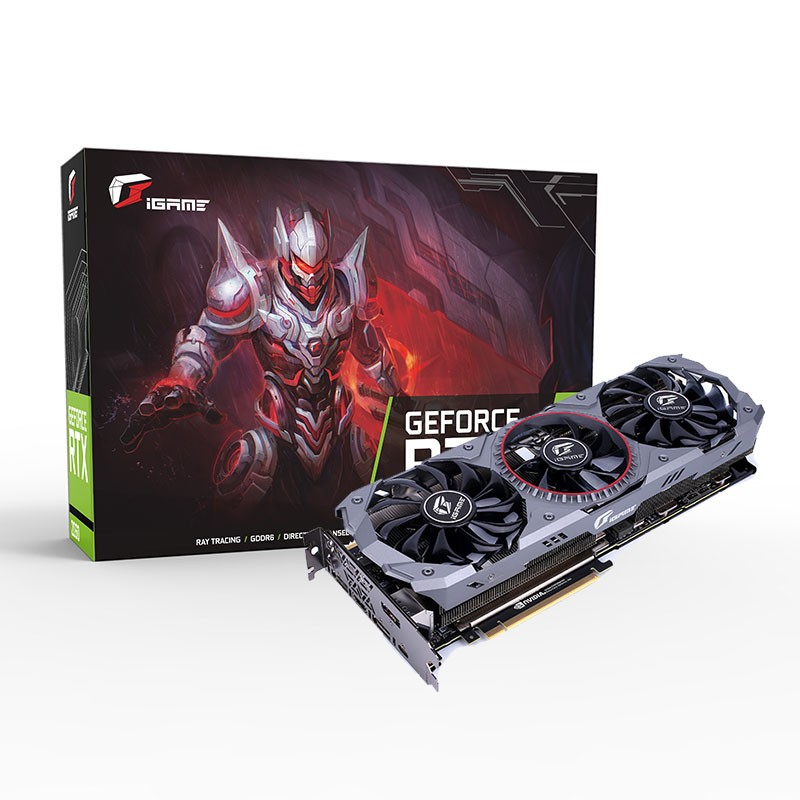 Graphics-Card Corlorful Igame Rtx 2080 NVIDIA 8G GDDR6 Geforce V2 Desktop Ad-Lite PCI-E3.0X16