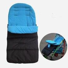 Зимняя Толстая теплая детская коляска, спальный мешок для новорожденных, чехол для коляски, аксессуары для детской коляски, детский спальный мешок