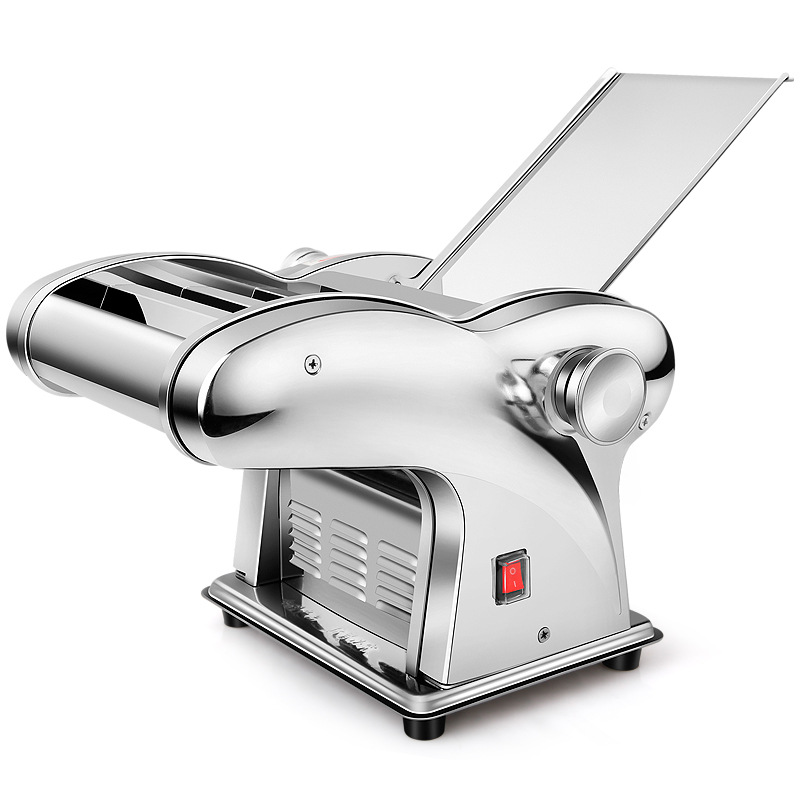 pasta machine Household Pasta Noodle Maker Stainless Steel Small Electric Full Automatic Noodle Cutting Machine noodles cutter 35 40kg h commercial pasta machine electric pasta noodle maker machine household noodles machine with best quality