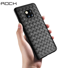 Phone Case For Huawei Mate 20 Pro Rock Fashion Ultra Thin Woven Pattern Soft Silicone Cases Back Covers