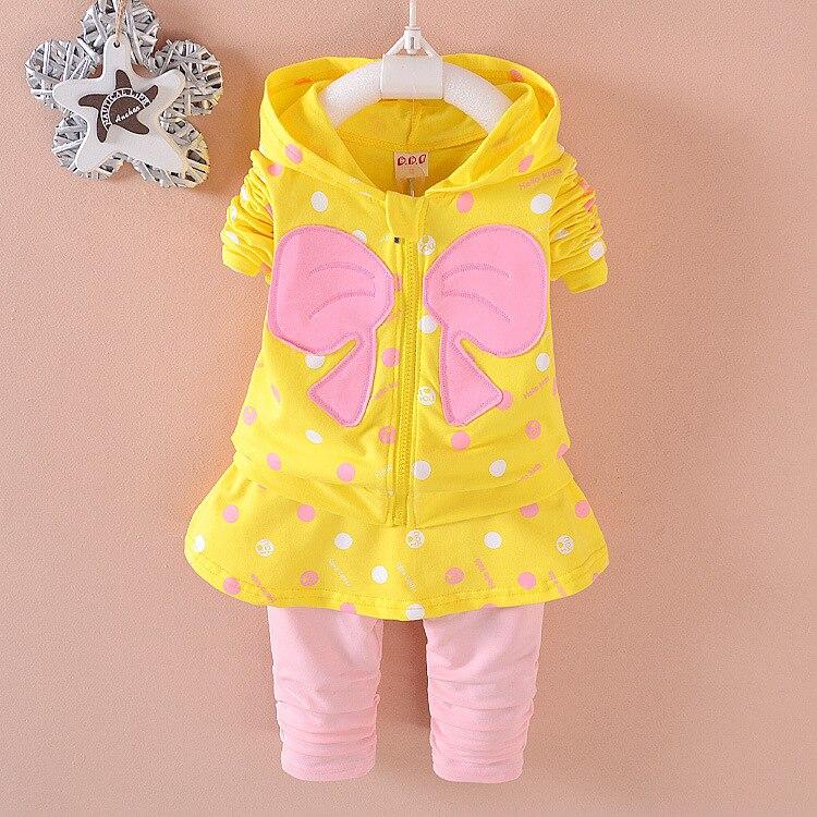Ropa para niños Conjuntos de niña bebé Moda de algodón de calidad - Ropa de ninos - foto 3