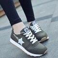 2017 de Primavera de Color Sólido Mujeres del Otoño Nuevo Estilo Casaul Zapatos de Señora Girls Moda Zapatos Adolescentes Zapatos Zapatillas Entrenador G564