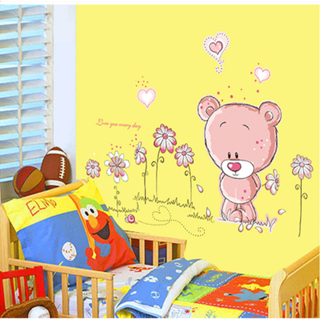 Love Bear 100*75cm Wall Covered 2