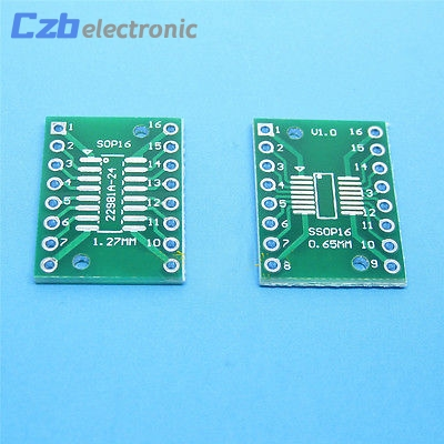 2pcs SOP20 SSOP20 TSSOP20 to DIP20 PCB SMD DIP//Adapter plate Pitch 0.65//1.27mm