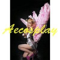 Ladies' Fancy Dress Adult Women LOL Super stars Ali Costume Cosplay Princess Costume Full Set