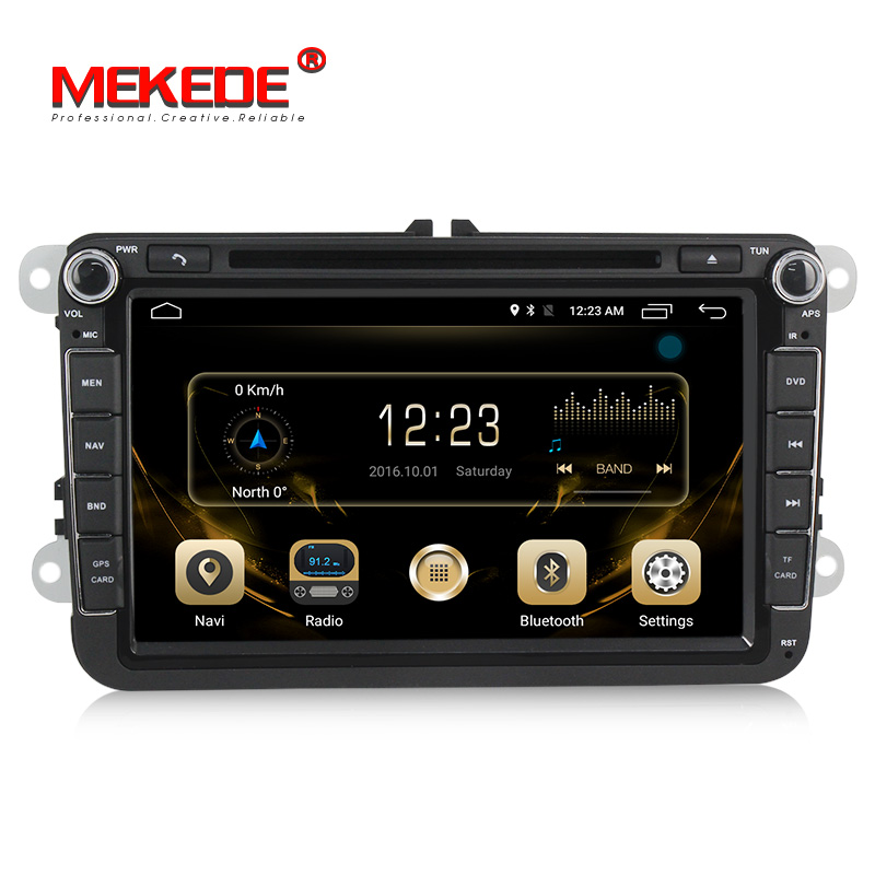 4g lte TDA7851 Voiture DVD GPS Navigation Radio Lecteur Pour VW Volkswagen POLO PASSAT Golf TOURAN SHARAN Quad Core 2g RAM 16g ROM BT