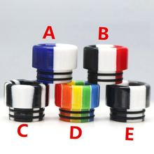 VapeSmod New Design 810 Resin Drip Tip For Kennedy 24 528 Reload Manta Kylin RTA etc 1pcs(China)