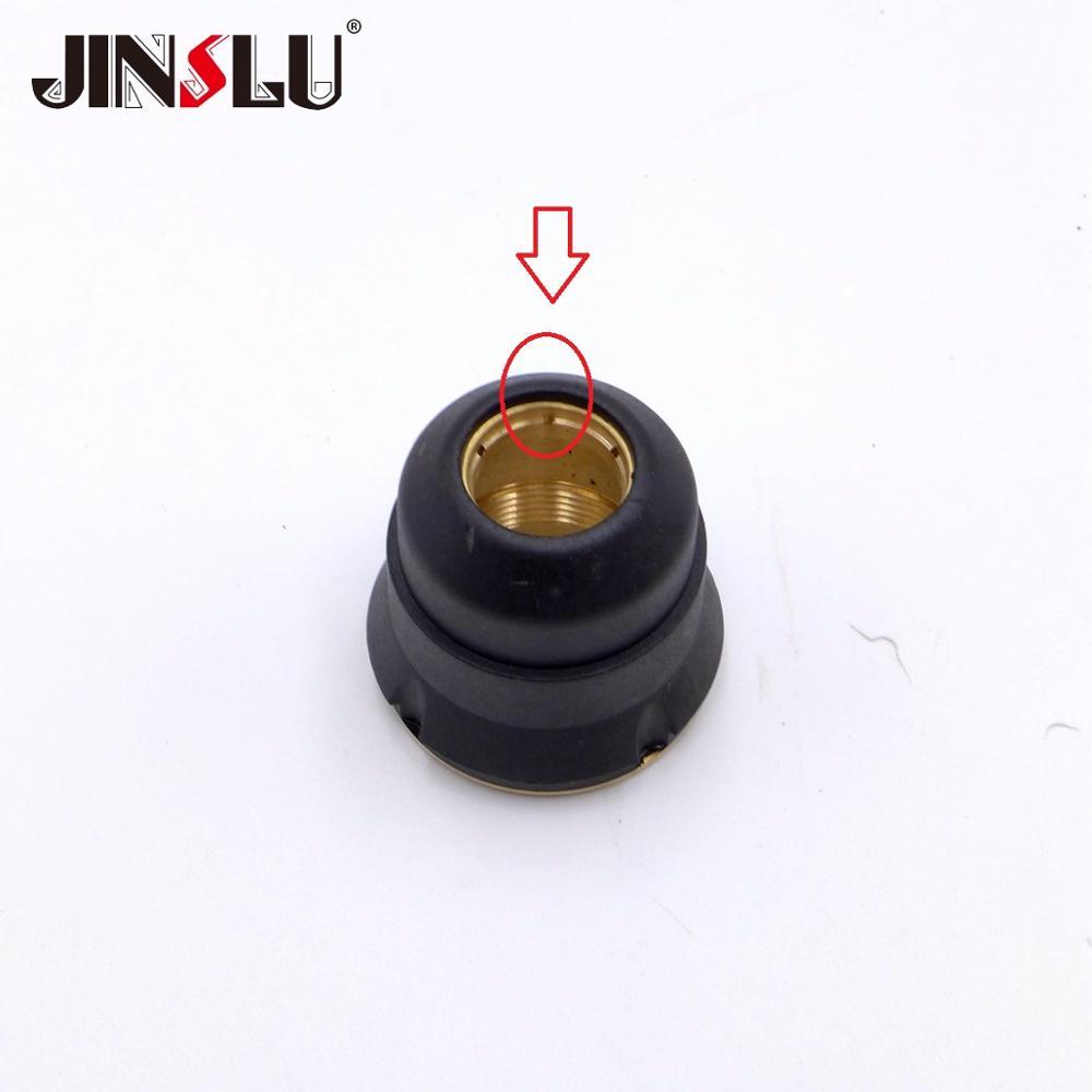 6 Holes Shield Nozzle 1pcs Fit PT60 PT-60 IPT60 IPT-60 IPT 60 PTM-60 IPT-40 PT-40 PT40 NON HF Pilot Arc