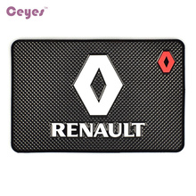 Ceyes 자동차 스타일링 매트 인테리어 액세서리 Renault Duster Megane 2 Logan Megane 3 Clio Fluence Capture Scenic 2 스티커