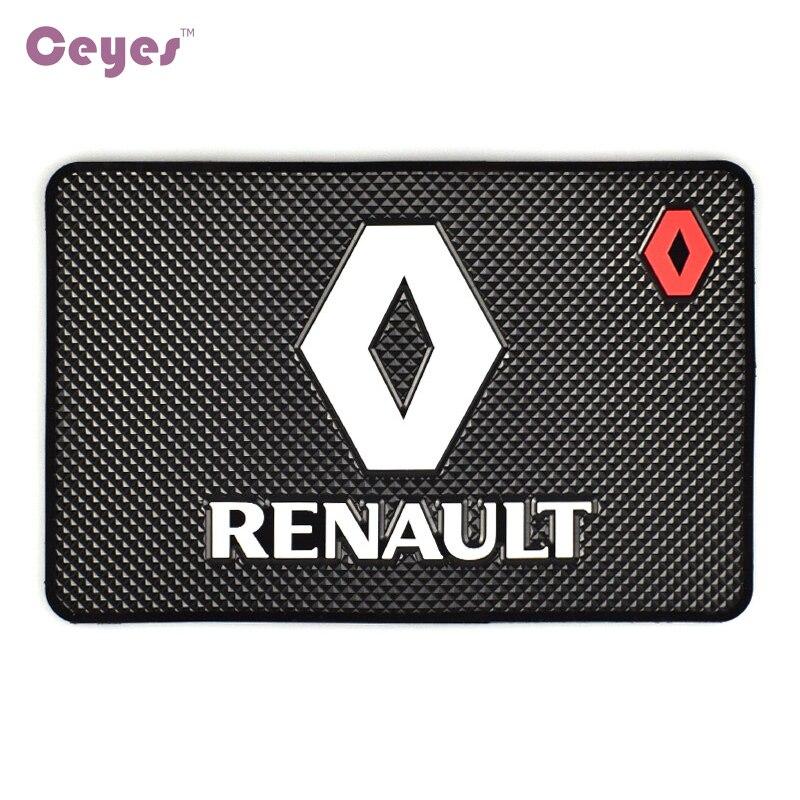 Tapis de style voiture Ceyes accessoires intérieurs pour Renault Duster Megane 2 Logan Megane 3 Clio Fluence Capture scénic 2 autocollant