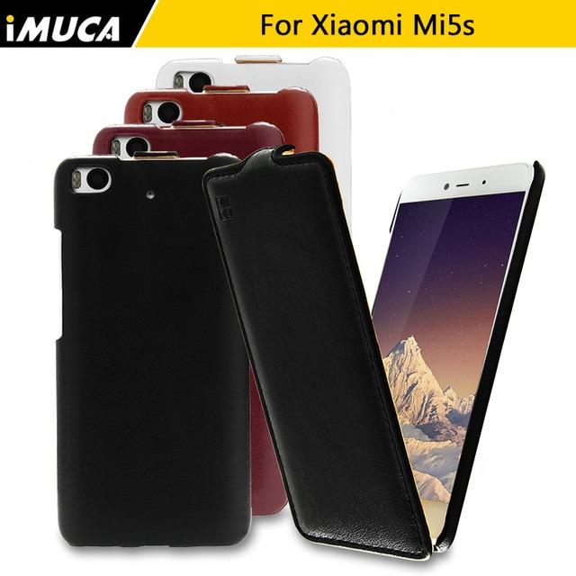 Xiaomi Mi5S Телефон Case Lucxury Кожаный Защитный Телефон Мешки Для Xiaomi Mi 5S Бренд IMUCA Крышка Коке Fundas Капа Carcasa