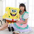 sponge bob 50cm plush toy soft anime cosplay doll for kids toys cartoon figure cushion home decoration squarepants free shipping