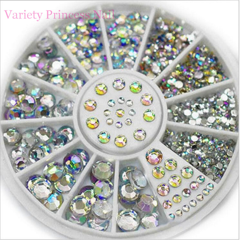 12 Design Mixed Alloy Glitter 3D Nails Art Jewelry Decorations Charms Manicure  Charms 3D Nail Art Decorations YP020 24 pcs chic mixed pattern design nail art fake finger nails