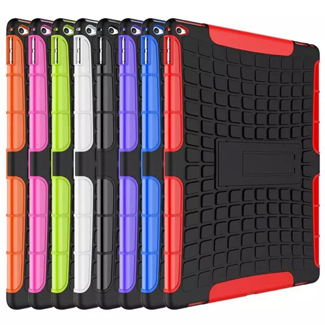 Soft Armor Shockproof Heavy Duty Silicone Hard Protective Case Cover For Apple iPad Pro 12.9 inch Tablet Accessories