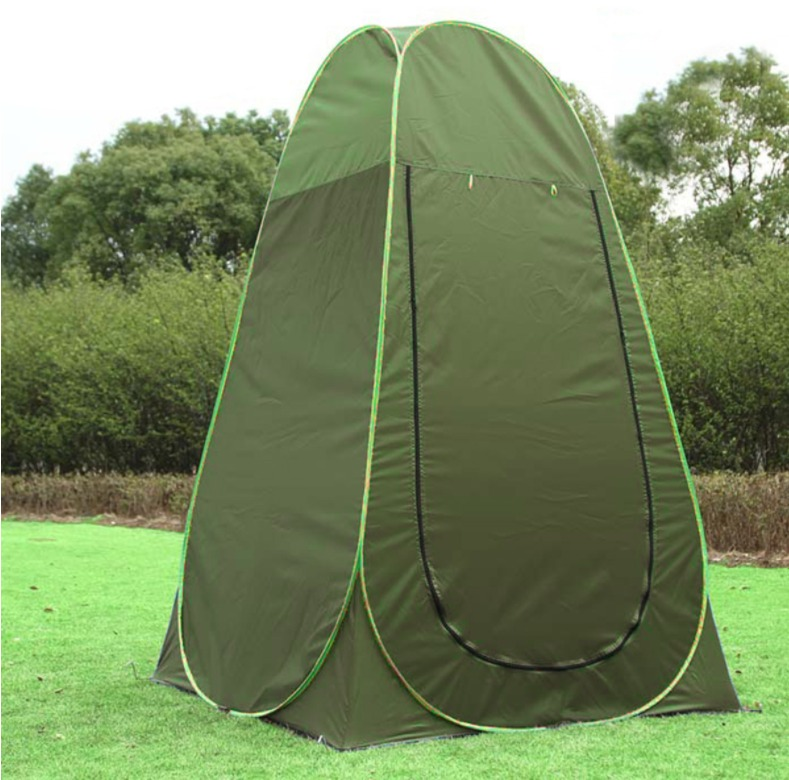 Green Pop Up Changing Room Toilet Shower Fishing Camping Dressing - Camping bathroom tent