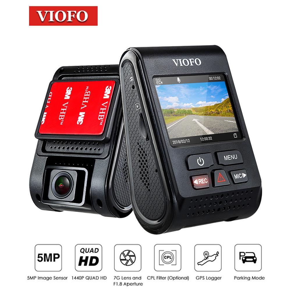 VIOFO A119 tableau de bord caméra Dvr caméra Coche Full HD 1080 p tableau de bord voiture tableau de bord enregistreur vidéo carcam caméra carro LDWS fonction supports
