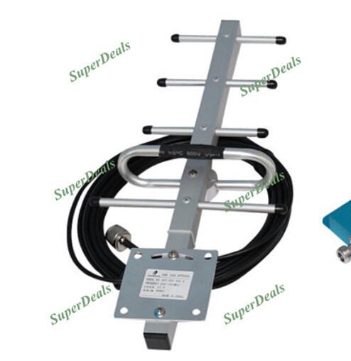 Frete grátis 5 unidade 13db 824-960 MHz antena Yagi com 10 m de cabo para GSM CDMA repetidor do impulsionador