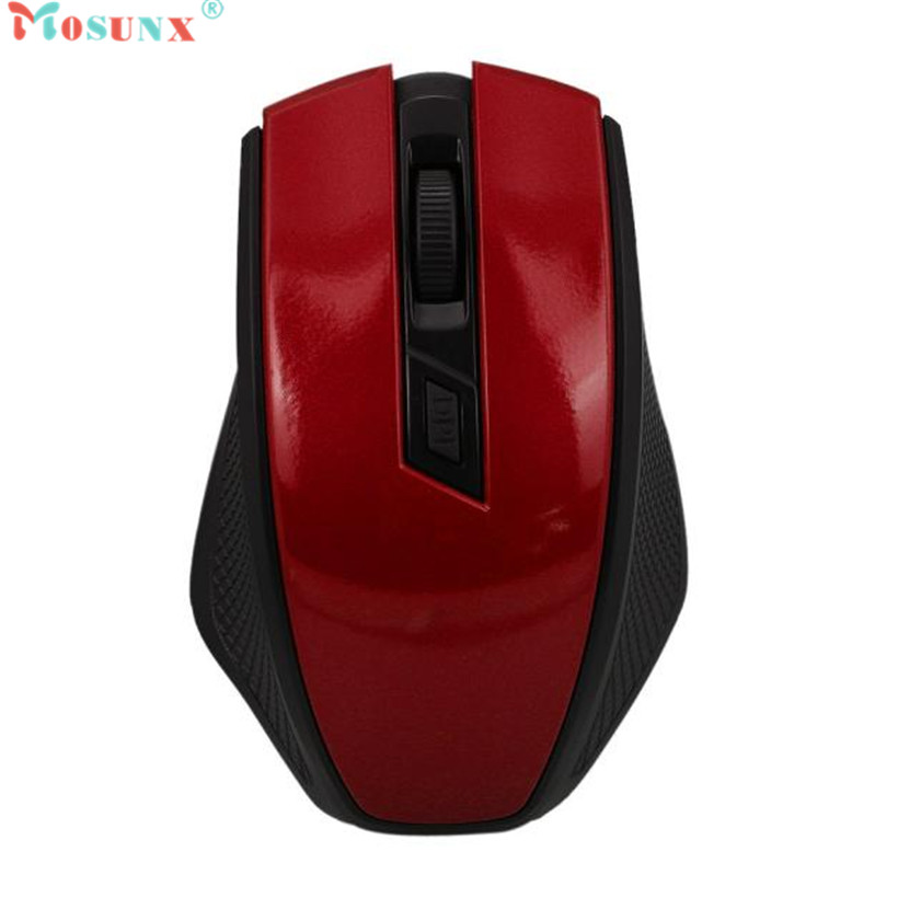 Mosunx Advanced Top Department High Quality 2.4GHz Wireless Optical Mouse Mice+USB Receiver For PC Laptop Macbook 1PC