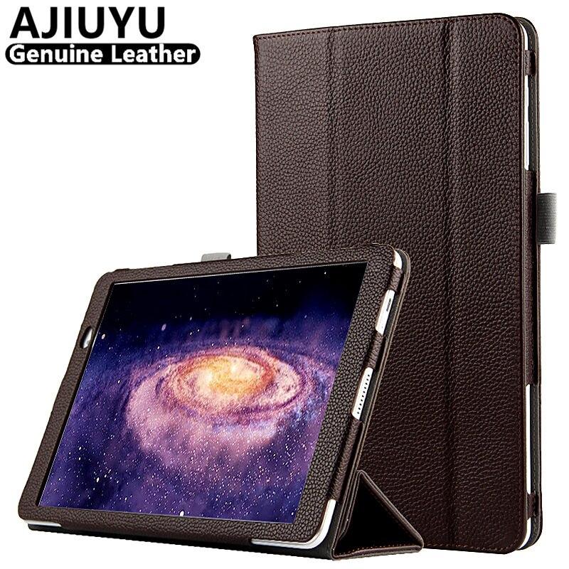 Véritable En Cuir Pour Huawei MediaPad T2 10.0 Pro Cas 10 T2 Pro 10.1 Cas de Vache De Protection Smart Cover Tablet FDR-A01W FDR-A03L