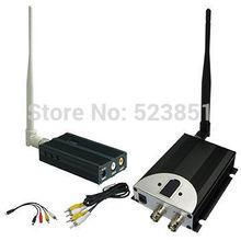 Nuevo 1.2 GHz 2500 mW largo alcance transmisor de video inalámbrico con 8 canales de buena para inalámbrico sistema de vigilancia CCTV