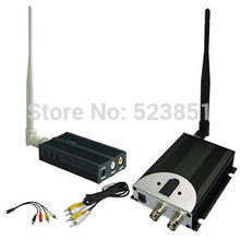 New 1.2GHz 2500mW long range wireless video transmitter with 8channels good for wireless CCTV Surveillance System