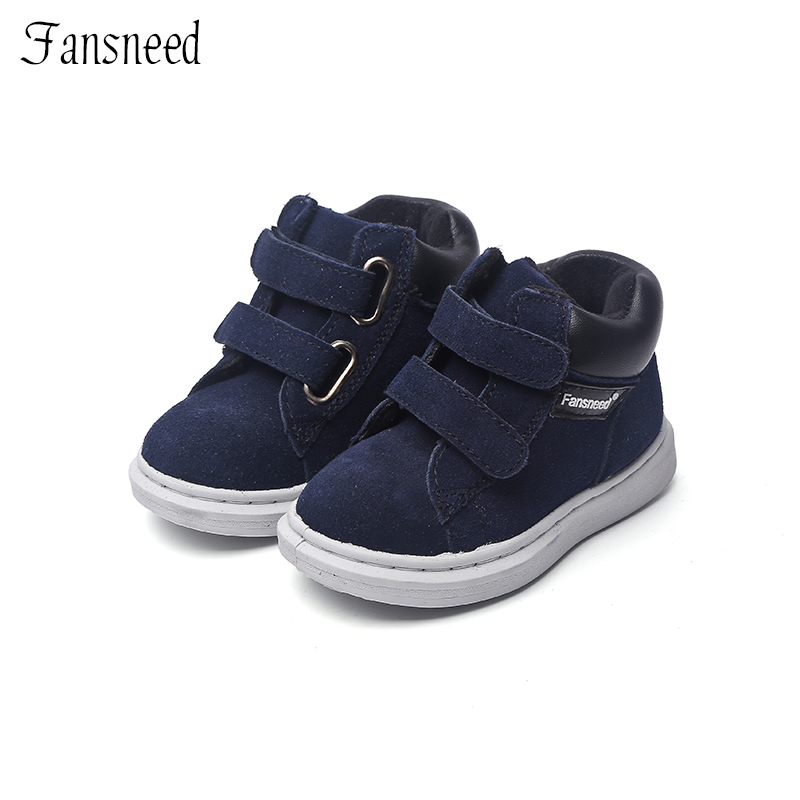 Brand new genuine leather uppers shoes single boys and girls casual shoes boots child boots baby shoes 2016 spring child sport shoes leather boys shoes girls wear resistant casual shoes