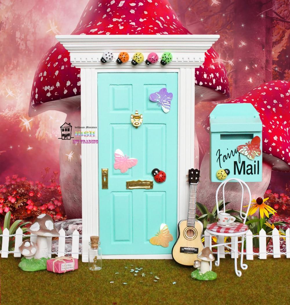 Fairy Fairies Miniature Dollhouse Doll House Picture