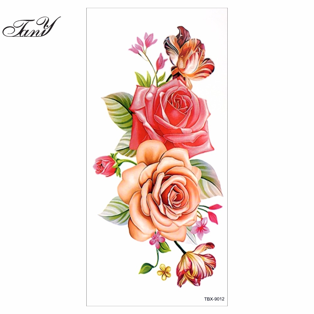 online buy wholesale orchid flowers tattoos from china orchid flowers tattoos wholesalers. Black Bedroom Furniture Sets. Home Design Ideas